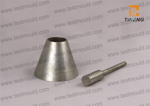 Sand absorption cone and tamper
