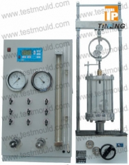 STRAIN CONTROLLED TRIAXIAL TEST APPARATUS