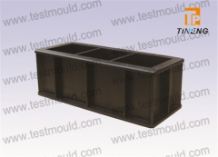 Plastic three gang mould