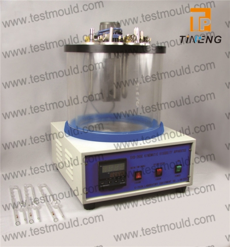 Kinematic viscosity apparatus