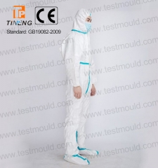 Disposable Medical Isolation Protective Suit